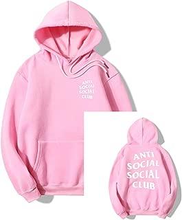 Anti Social Club Hoodie Men's Cotton Fleece Sports Hoodie