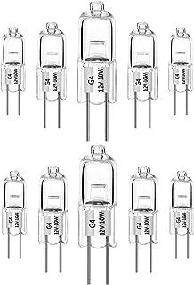FLAMEER Ampoule Halog/ène Bi-Broche Type G4 JC 12V 20W