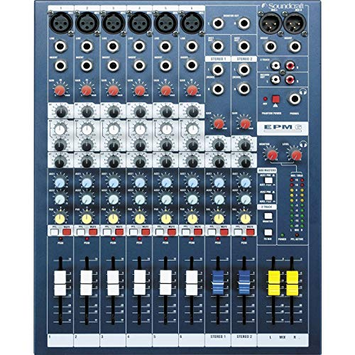 Soundcraft EPM6 · Mischpult