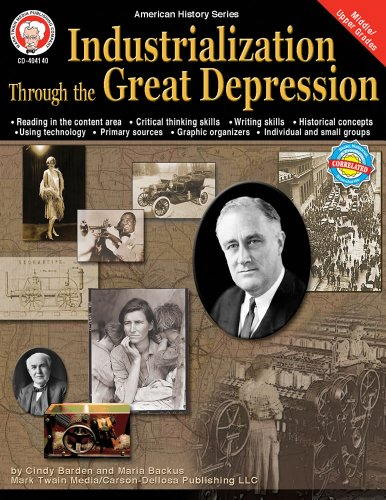 Mark Twain - Industrialization through the Great Depression, Grades 6 - 12 (American History Series)