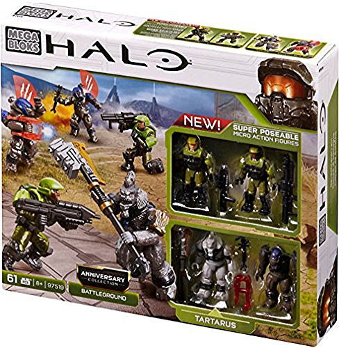 Halo Mega Bloks Set #97519 Anniversary Collection: Battleground