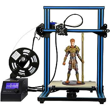 HICTOP 12V Reprap Prusa I3 3D Impresora Aluminio Marco DIY Kit ...