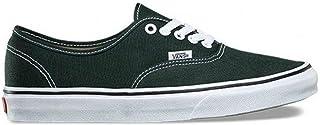 Vans Authentic Unisex Scarab Dark Green True White Skateboarding Shoes