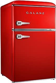 Galanz 3.1 cu ft Red Retro Mini Fridge