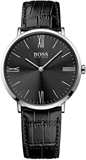Hugo Boss Reloj Analógico para Hombre de Cuarzo con Correa en Cuero 1513369