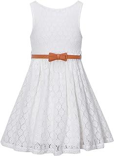 فستان BINPAW من الدانتيل مع حزام