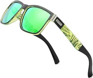 DUBERY Vintage Polarized Sunglasses for Men Women Retro...
