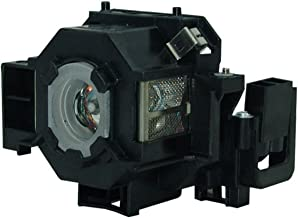 AuraBeam Economy Replacement Lamp, for Epson (ELPLP42 / V13H010L42) for most PowerLite models, with Housing