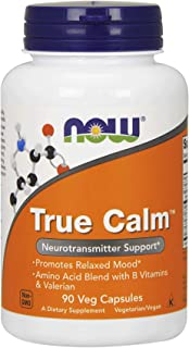 Now Foods True Calm - 90 Veg Caps (4 Pack)