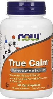 Now Foods True Calm - 90 Veg Caps (4 Pack)