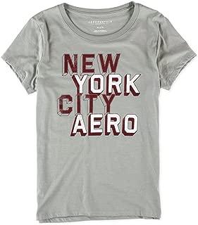 AEROPOSTALE Womens Block New York City Graphic T-Shirt