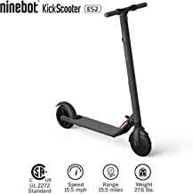 Segway Ninebot ES2 Folding Electric Kick Scooter, Dark Grey