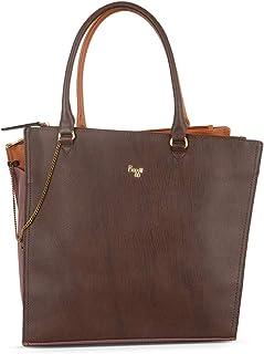 Baggit Spring/Summer '20 Women Tote Brown Handbag