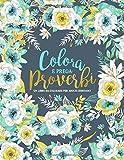 Colora e prega : Proverbi : Un libro da colorare per adulti cristiano: Un libro religioso ...