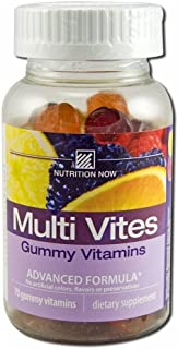 Nutrition Now Vitamin Multi Gummy Bry Lmn Or