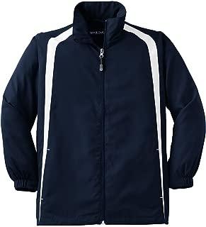YST60 Youth Colorblock Raglan Jacket