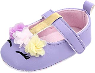 f9d27f1d1870 Cute Baby Girls Shoes Newborn Infant Cartoon Floral Casual First Walker Toddler  Shoes