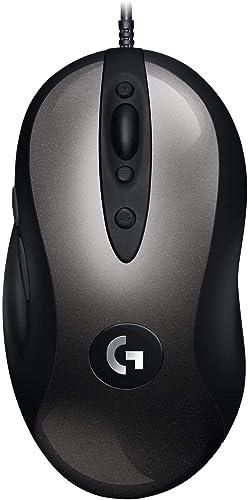 Logitech G MX518 Souris Gamer Filaire, Capteur Gaming HERO 25K, 25 600 PPP, ARM, 8 boutons Programmables, PC/Mac - No...
