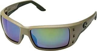 Costa Men's Permit Sand/Green Mirror 580g One Size