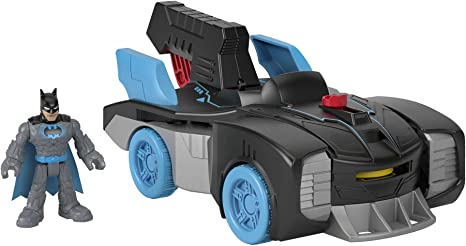 Bat-Tech Batmobile and Batman Figure