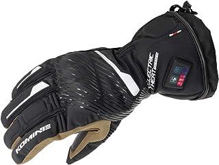 コミネ(KOMINE) バイク用 デュアルヒートプロテクトエレクトリックグローブ ブラック XS EK-215 13072 秋冬春向け 防水 防寒 電熱 ストレッチ素材