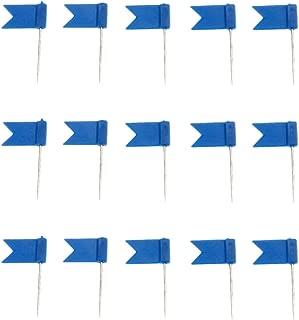 100pcs Blue Flag Push Pins Nail Thumb Tack Cork Board Map Drawing Pins For Notice Cork Board World Map