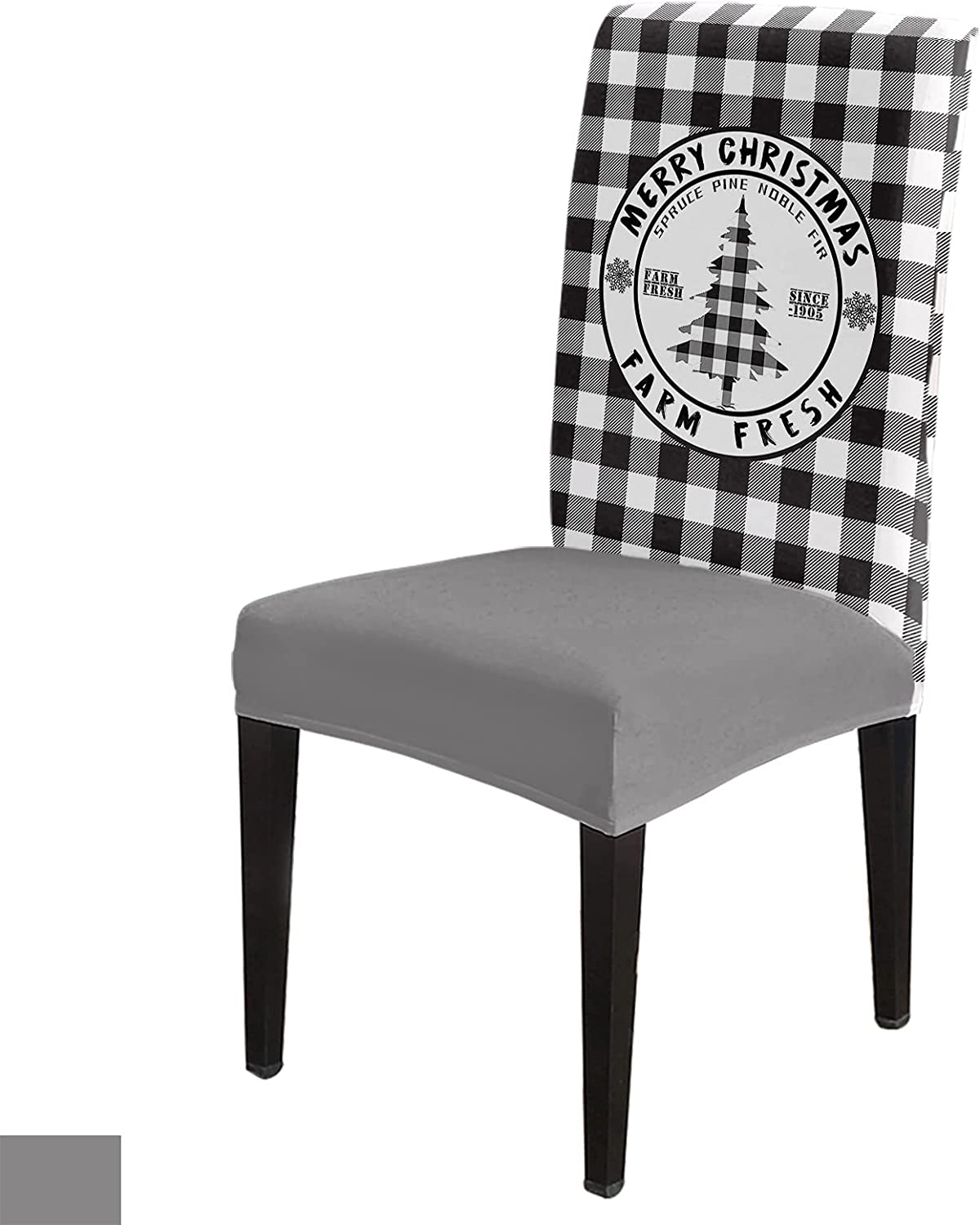 wholesale Merry Christmas Dining Chair Slipcover Seat Removable Super sale Washable