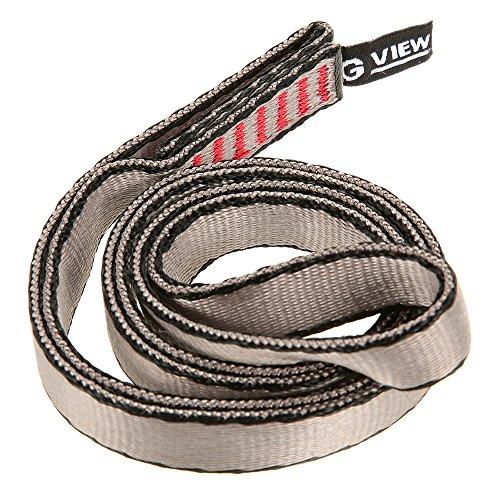 Fesjoy 23kN 16mm 60cm / 2ft Seil Runner Bandschlinge Flach-Gurt für Bergsteigen Klettern Caving Abseilen Rettungstechnik