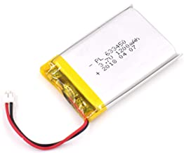 YDL 3.7V 1200mAh 633450 Lipo battery Rechargeable Lithium Polymer ion Battery Pack with JST Connector