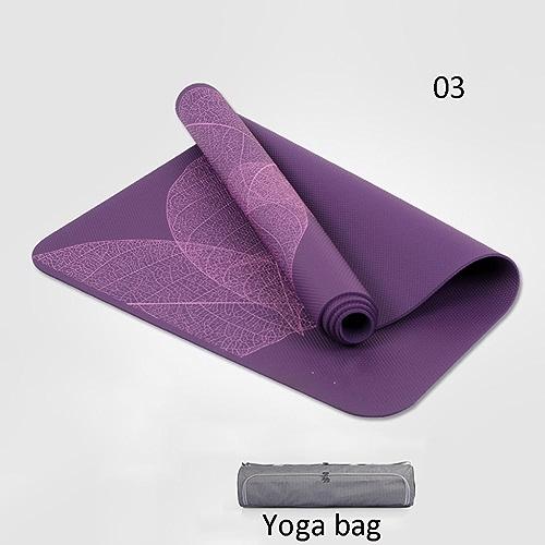 EU8 Tapis de Yoga Tapis antidérapant pratiquant la Danse Pratique Fitness Tapis de Yoga