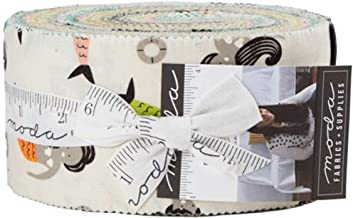 Annie Brady Fish Tales Jelly Roll 40 2.5-inch Strips Moda Fabrics 16720JR