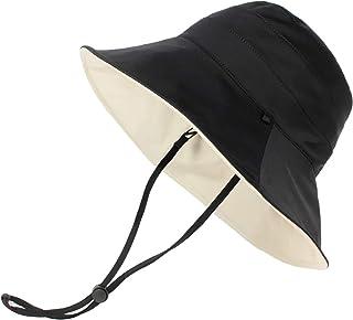 【UPF50+ UVカット率99.9%】 紫外線対策 レディース 帽子 サファリハット 折りたたみ 両面使える 日焼け防止