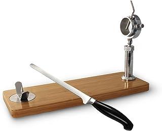 Jamonero con soporte rotatorio giratorio + cuchillo jamonero de REGALO