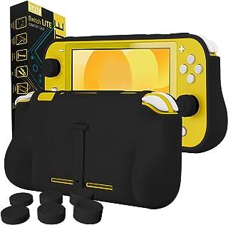 comprar comparacion Funda para la Nintendo Switch Lite – Comfort Grip Case, Carcasa Protectora con puños de Mano Rellenos Integrados para la P...