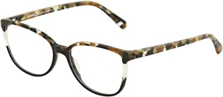 Women's Eyeglasses Veracruz BKGD Black/Gold Optical Frame 55mm