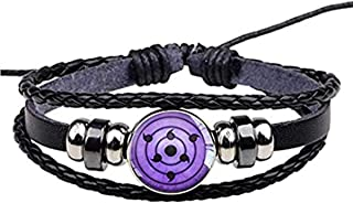 I3C Accessori per cosplay e casuale, Braccialetto/Collana regalo per i fan dell'anime Naruto, Lega, Unisex