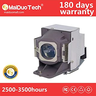 MaiDuoTech Replacement Compatible Projector Bulb for 5J.J7L05.001 with Housing for Benq W1070 W1080ST HT1075 HT1070A HT1085ST W1070+.