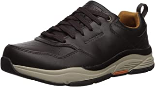 Skechers Men's Benago-treno Leather Perf Lace Up Oxford