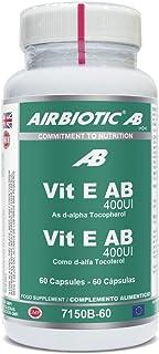 Airbiotic Vit E AB 400 UI - Vitaminas frente al estrés oxidativo. 60 cápsulas
