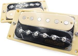 Wilkinson Lic Zebra Humbucker Pickups Set of 2 Cream Rings