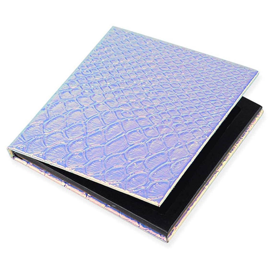 不注意こどもの日先に空磁気パレット  磁気パレットボックス アイシャドウ パウダー アイシャドー ケース詰替え 提携便利 (正方形)
