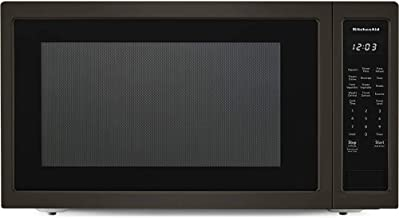 KitchenAid KMCS3022GBS 2.2 Cu. Ft. Black Stainless Countertop Microwave