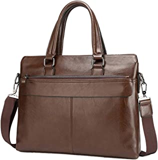 Men's Cross Casual Business Bag, Laptop Crossbody Shoulder Bag Business Tote Large Capacity