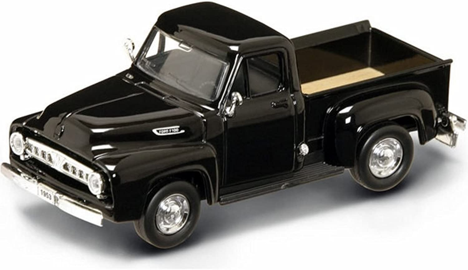 1953 Ford F100 Pick Up Truck Black 1 43 by Yat Ming 94204 by Road Signature