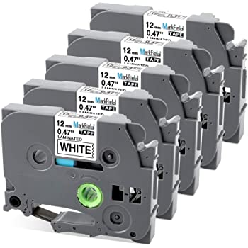 1 Schriftband für Brother TZ231 12mm P-Touch 7500VP 7600 7600VP 900 900BTS 900F