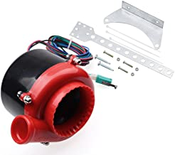 Red Car Electronic Fake Turbo Dump Blow Off Valve BOV Analog Sound Simulator with Pedal Switch for Buick Chevrolet Chevy Dodge GMC Ford