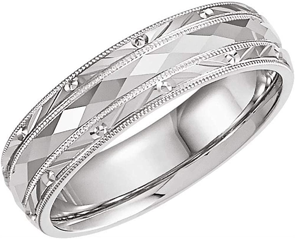 6mm Design Wedding Max 88% OFF Band Ring Fit Comfort Quality inspection