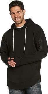 Best mens black long hoodie Reviews