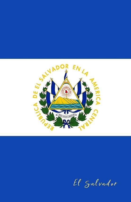 トンネルパーツ敗北El Salvador: Flag Notebook, Travel Journal to write in, College Ruled Journey Diary