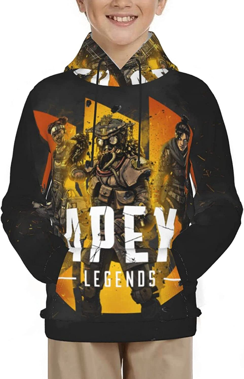 Apex-Heroes Fashion Youth Teen Hoodies Sweatshirt Pullover Sweaters Long Sleeve Shirts Boys Girls
